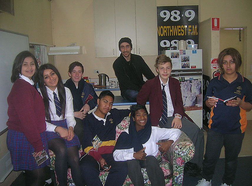 Youth On Air Students